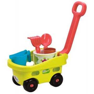 Zahradní vozík s kyblíčkem a příslušenstvím
