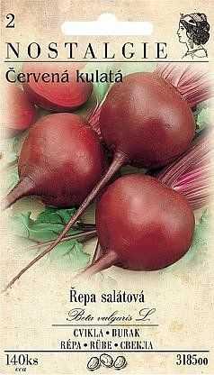 Řepa salátová červená konzumní, 140 semen