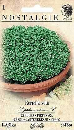 Řeřicha setá, 1400 semen