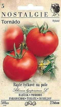 Rajče tyčkové tornádo, 50 semen