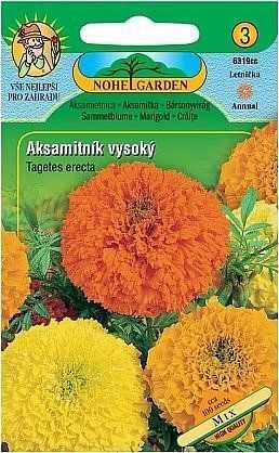 Aksamitník vzpřímený vysoký, směs, 100 semen