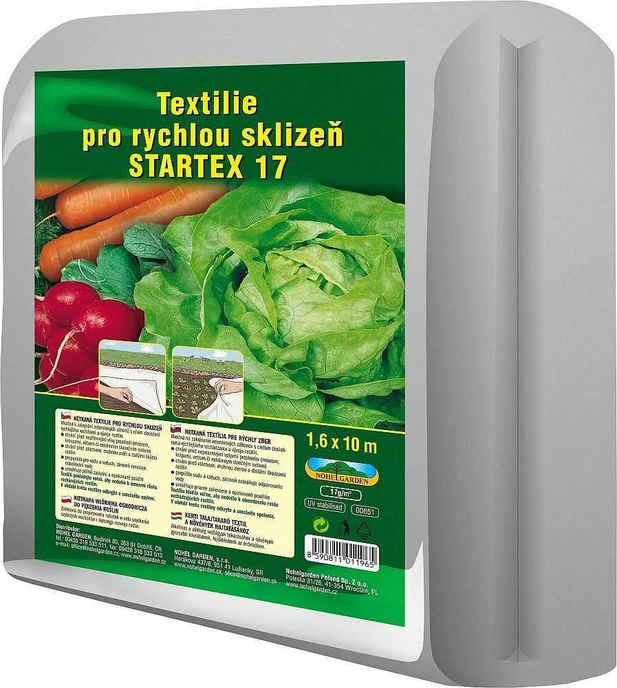 Startex, textilie k rychlení, bílá, 1,6 × 10 metrů