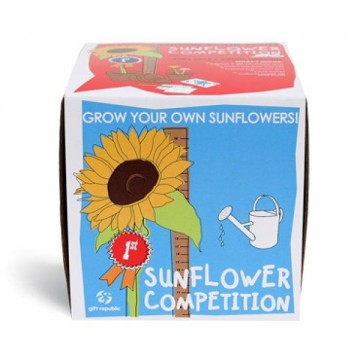 Sow and grow - Soutěž o největší slunečnici