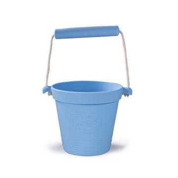 Bigjigs Toys Plážový kyblíček světle modrý