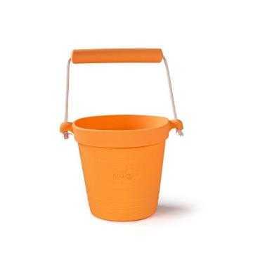 Bigjigs Toys Plážový kyblíček oranžový
