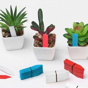 Popisovací štítky k rostlinám - modrá