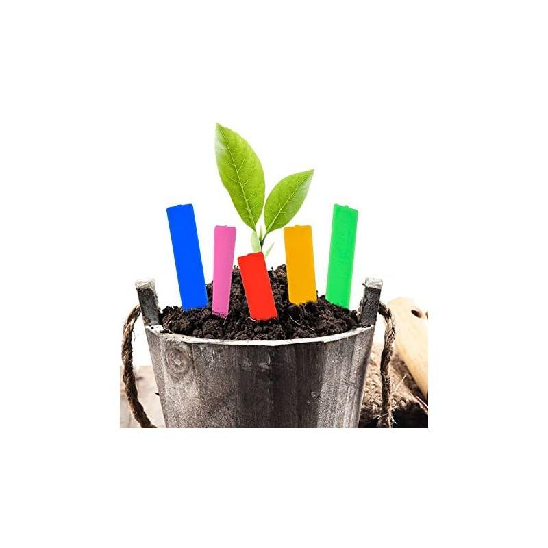 Popisovací štítky k rostlinám - červená