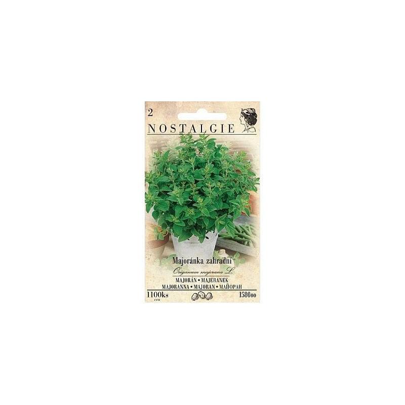 Majoránka zahradní, 1100 semen