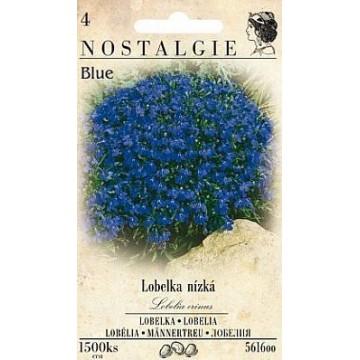 Lobelka drobná nízká modrá, 1500 semen