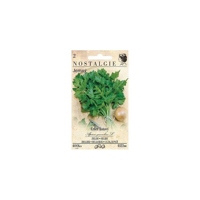 Celer listový jemný, 400 semen