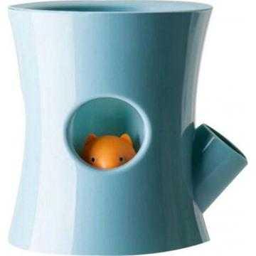 Samozavlažovací květináč - modrý